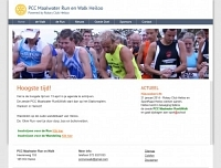 Nieuwe website Walk en Run