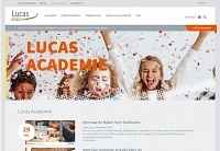 Foto bij artikel Website Lucas Academie is online